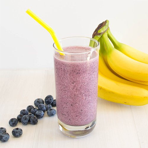 Dr Della Parker_Banana Blueberry Smoothie Recipe
