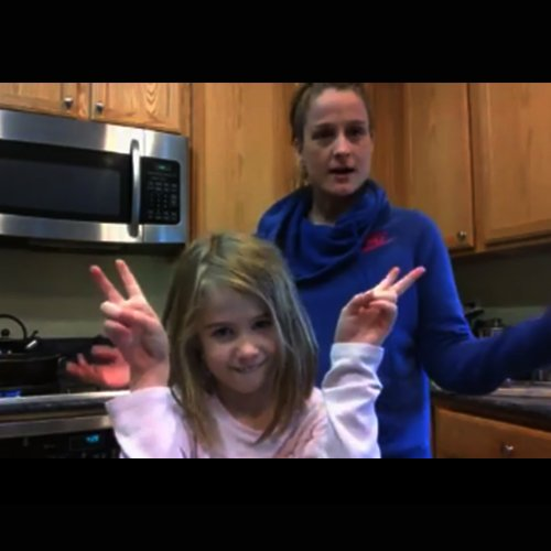 Dr Della Parker_Dr. Della and Eisley Cooking Pizza Pasta Recipe
