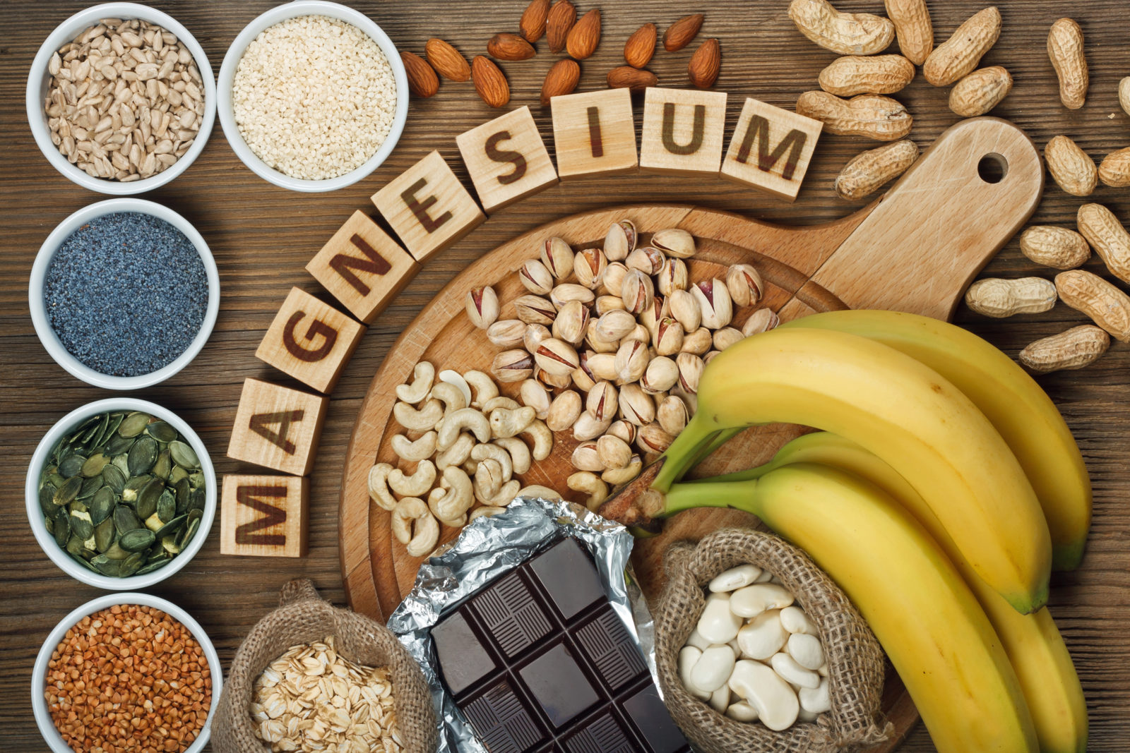 Natural sources of magnesium
